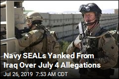 Navy SEALs Pulled From Iraq Over Reports of Rape, Drinking