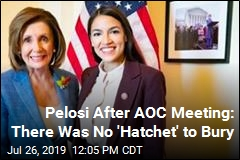 What Feud? It's All Smiles After Pelosi, AOC Meeting