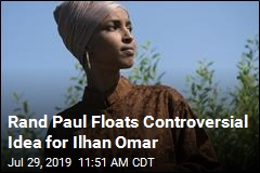 Rand Paul Floats Controversial Idea for Ilhan Omar