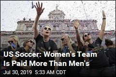 US Soccer: Women's Team Is Paid More Than Men's