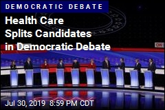 Health Care Splits Candidates in Democratic Debate