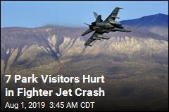 7 Park Visitors Hurt in Fighter Jet Crash