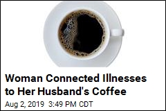 Man to Serve 60 Days for Poisoning His Wife's Coffee