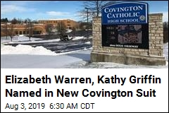Elizabeth Warren, Kathy Griffin Named in New Covington Suit