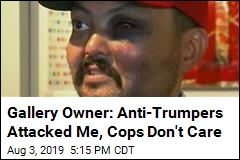 Gallery Owner: Anti-Trumpers Attacked Me, Cops Don't Care