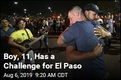 Boy, 11, Has a Challenge for El Paso