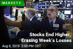 Stocks End Higher, Erasing Week's Losses