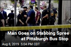 Man Goes on Stabbing Spree at Pittsburgh Bus Stop