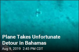 Plane Takes Unfortunate Detour in Bahamas