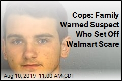 Cops: Armed Man at Walmart Claimed to Be Doing 'Social Experiment'