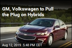 GM, Volkswagen to Pull the Plug on Hybrids