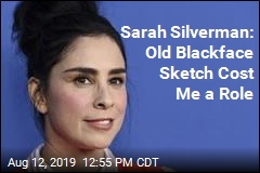 Sarah Silverman: I Lost Movie Role Over Blackface