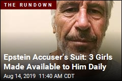 Epstein Accuser Is Suing Today for Specific Reason