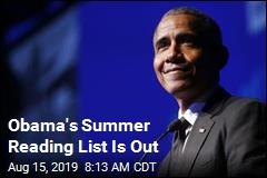 Obama's Summer Reading List Is Out