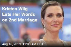 Kristen Wiig Eats Her Words on 2nd Marriage