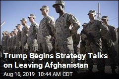 Trump Begins Talking Strategy on Afghan Withdrawal