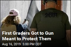 Employee Trained to Have Gun Let First Graders Get to It