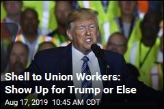 Union Crowd at Trump Event Told: 'NO SCAN, NO PAY'