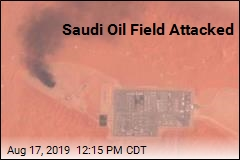 Saudi Oil Field Attacked