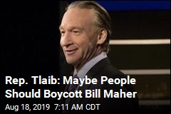 Bill Maher Blasts Israeli Boycott as Bogus 'Purity Test'