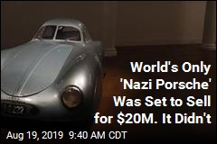 World's Only 'Nazi Porsche' Was Set to Sell for $20M. It Didn't