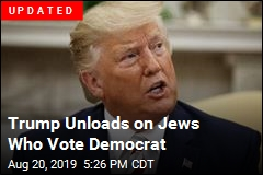 Trump Has Harsh Words for Jews Who Vote Democrat