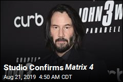 Keanu Reeves to Return for Matrix 4
