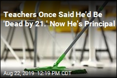 He Started Out Mopping School Floors. Now He's a Principal