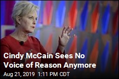 Cindy McCain Urges Acts of Civility, Political or Not