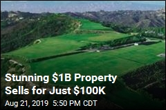 Stunning $1B Property Sells for Just $100K