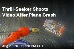 Pilot Shoots Video After Crashing in Ocean