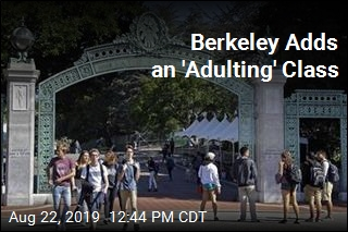 At UC Berkeley, a Class on 'Adulting'
