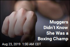 Muggers Didn't Know She Was a Boxing Champ