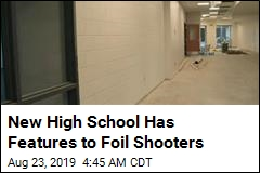 New High School Has Features to Foil Shooters