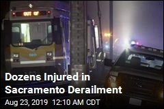 Dozens Injured in Sacramento Derailment