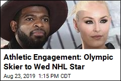 A Skiing Star Will Marry a Hockey Star