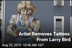 Artist Removes Tattoos From Larry Bird