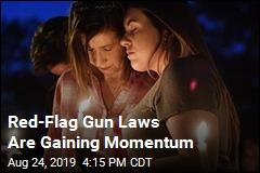 Mass Shootings Give Boost to Red-Flag Gun Laws