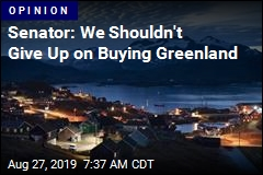 Sen. Cotton: Buying Greenland Is Still a Good Idea