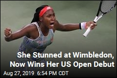 Coco Gauff Wins Her US Open Debut at 15