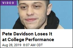 Pete Davidson Loses It on College Kids: 'Grow the F--- Up'