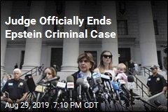 Epstein Criminal Case Ends, but Investigation Will Continue