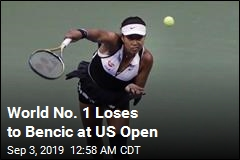 2018 Champ Osaka Loses to Bencic at US Open