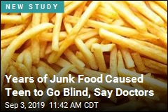 Teen's Diet Caused His Blindness, Say Doctors