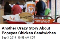 Cops: Guy Pulls Gun When Popeyes Runs Out of Chicken