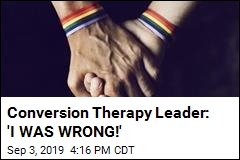 Conversion Therapy Leader, Now Openly Gay, Is Sorry
