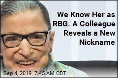 RBG: It Was 'Lonely' When I Was Only Female Justice
