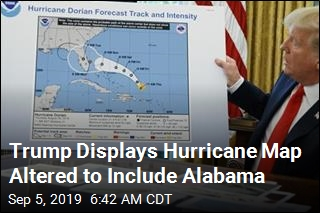 Trump Hurricane Map Was Altered With Sharpie