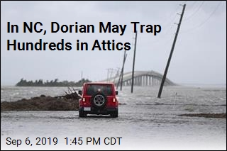 Outer Banks Braces as Dorian Wallops