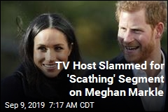 Harsh TV Spot on Meghan Markle: a 'No One' in 'Bad Clothes'